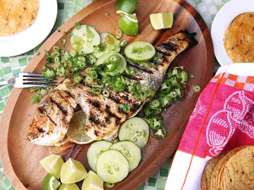 Grill Your Fish Whole for the Juiciest Fish Tacos