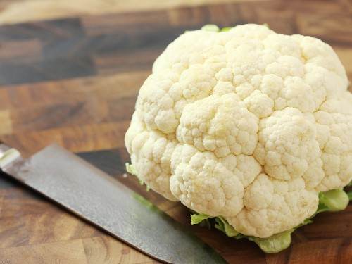 How to Cut Cauliflower Into Florets