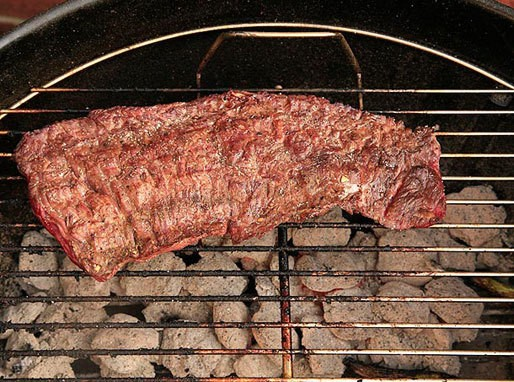Spice-Rubbed Grilled Flap Meat (Sirloin Tip) Recipe