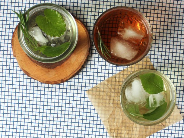 3 Iced Tisanes to Make at Home with Fresh Herbs