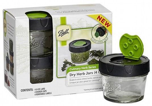 Gadgets: Ball Dry Herb Storage Jars