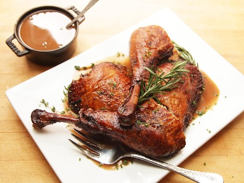Red-Wine-Braised Turkey Legs Recipe