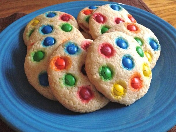 Gluten-Free M&M's Soft Sugar Cookies Recipe