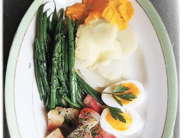Composed Summer Salad with Lemony Aioli from 'Canal House Cooks Every Day'