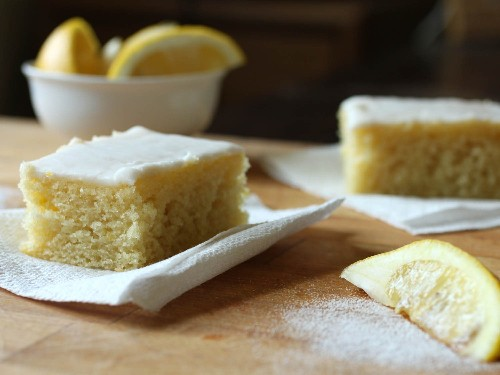 Gluten-Free All-Day Lemon Cake (With a Choice of Two Toppings) Recipe