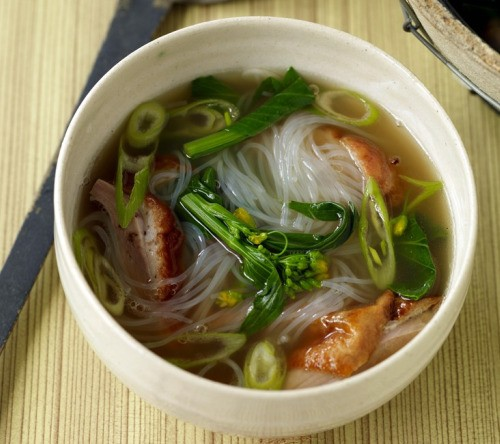 Noodles for the New Year: Cantonese Roast Duck Soup Noodles Recipe