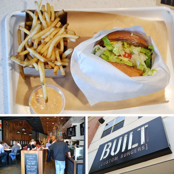 Los Angeles: A First Look and Taste at Built Custom Burgers