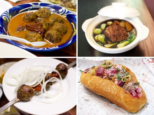 8 Great International Meatballs in NYC, Hold the Red Sauce