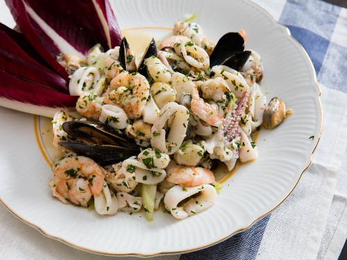 How to Make Italian Seafood Salad (Insalata di Frutti di Mare)