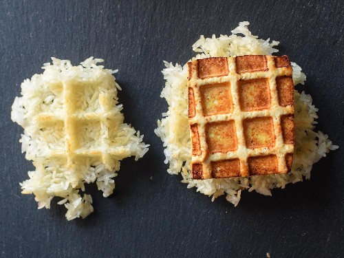 Use Your Waffle Iron for Seriously Crispy Tofu