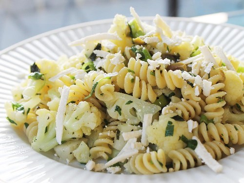 Fusilli With Broccoflower, Olives, and Herbs From 'The New Vegetarian Cooking for Everyone'