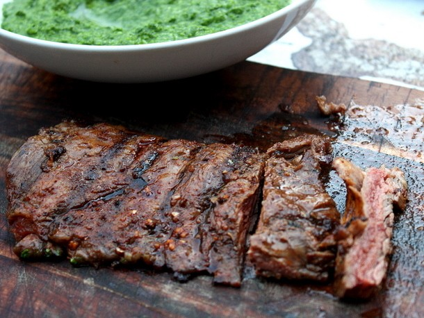 Spice-Rubbed Grilled Skirt Steak Recipe