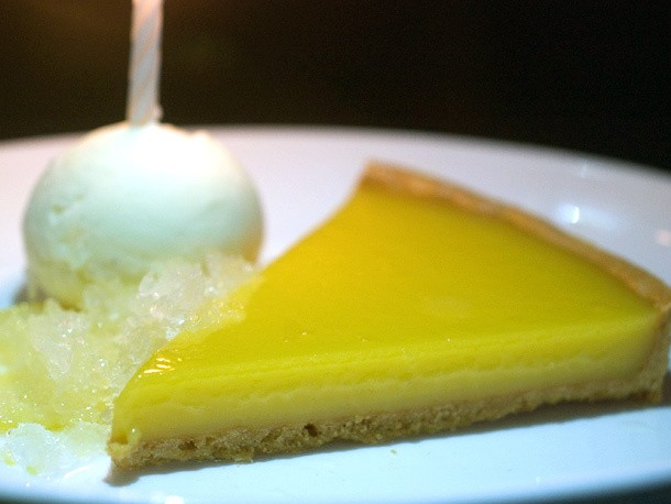 A Lemon Tart Like No Other at the NoMad