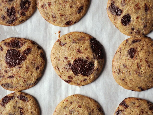Cookie Monster: Crisp and Chewy Chocolate Chip Cookies