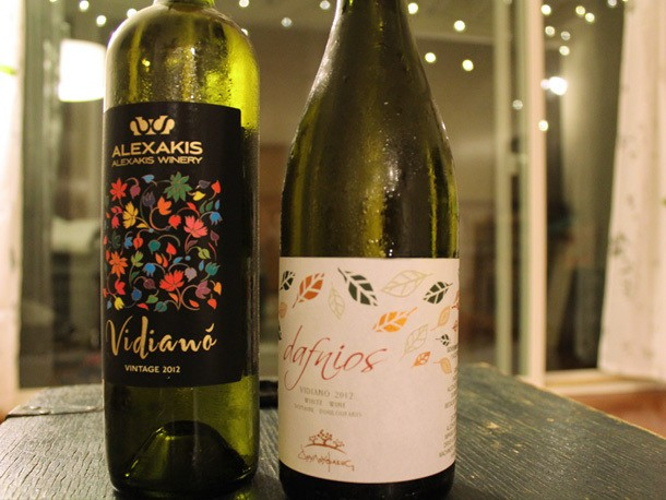 Vidianó: Affordable White Wine from Crete