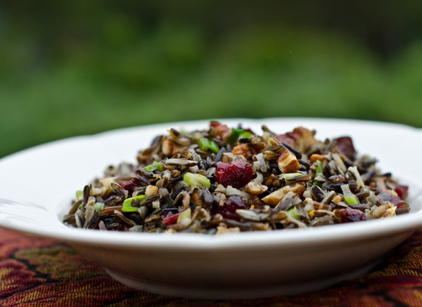 Wild Rice Salad With Cranberries and Pecans Recipe