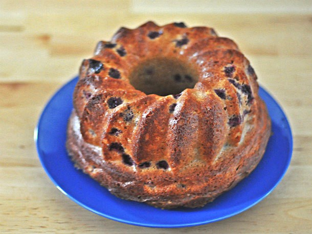 Blackberry Sour Cream Bundt Recipe