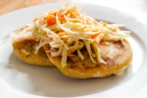 How to Make Pupusas (Salvadoran Stuffed, Griddled Tortillas) With Masa