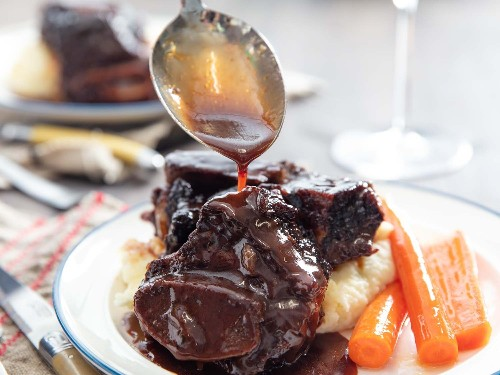 The Secret to Restaurant-Quality Braised Short Ribs Is in the Sauce