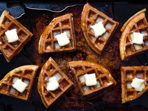 Buttermilk Vanilla Waffles Recipe