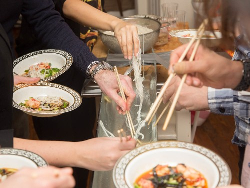 Fishing for Somen: How I Hosted a Japanese Backyard Noodle Party in My Studio Apartment