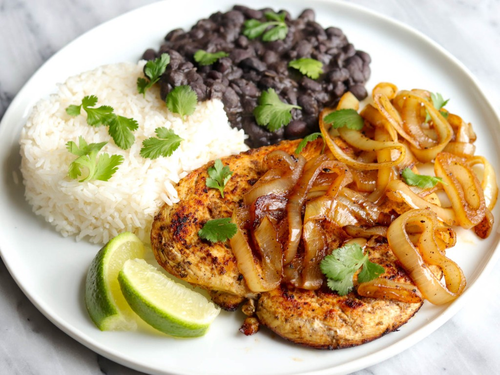 Cuban-Style Pollo a la Plancha (Marinated and Griddled Chicken) Recipe