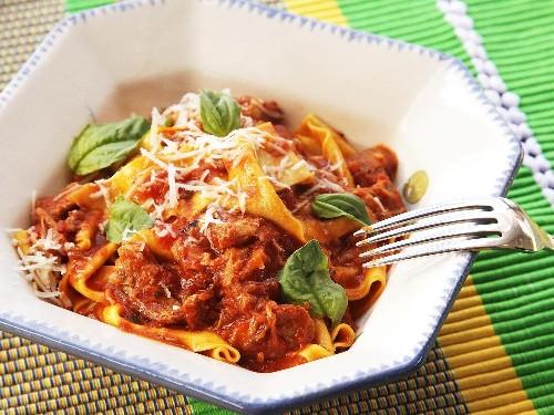 Ragú Napoletano (Neapolitan-Style Italian Meat Sauce with Pork, Beef, and Sausage) Recipe