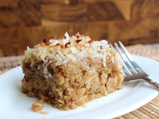 One Bowl Baking: Coconut Oatmeal Cake