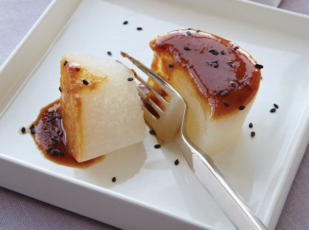 Traditional Braised Daikon from 'Hiroko's American Kitchen'