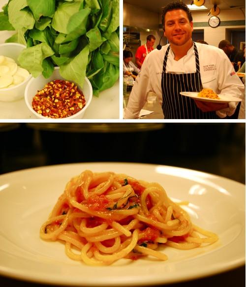 Making Scarpetta's Tomato-Basil Spaghetti with Scott Conant