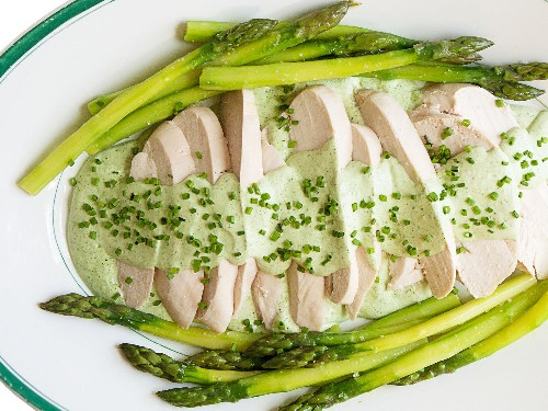 The Canal House Perfect Bite: Poach Your Chicken and Asparagus for a Light, Easy Meal
