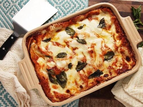 A Summer Vegetable Lasagna That's Light (but Not Too Light)