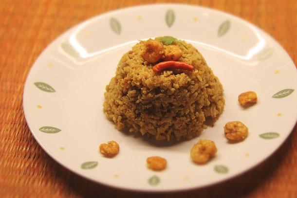 Aromatic Indian Shrimp Pilaf (Kolambi Bhaat) Recipe