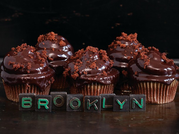Bake the Book: Brooklyn Blackout Cupcakes