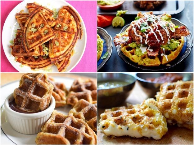 14 Sweet and Savory Waffle Recipes for Breakfast, Lunch, and Dinner