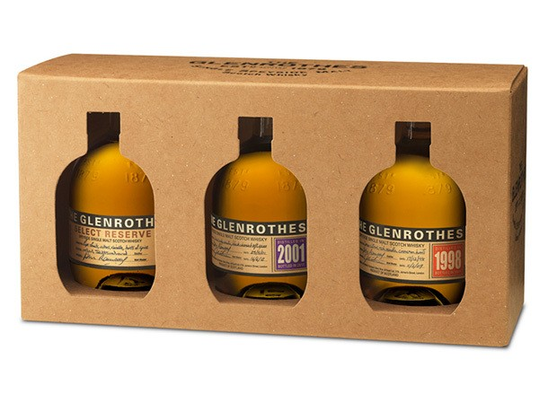 Glenrothes Triple Pack: A Home Scotch Tasting for Father's Day