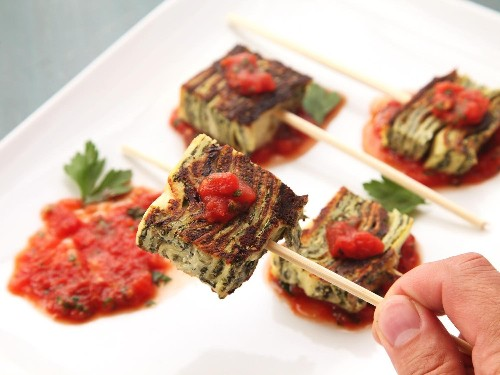 Crispy Leftover Lasagna Skewers Recipe