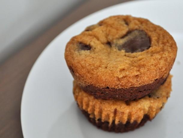 Cookie Monster: Chocolate Chip Cookies + Brownies = Brookies