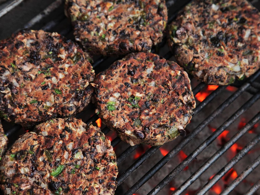 Awesome Black Bean Burger - Magazine cover