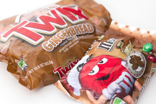 Supermarket Sweets: We Try the New Gingerbread Twix and M&Ms