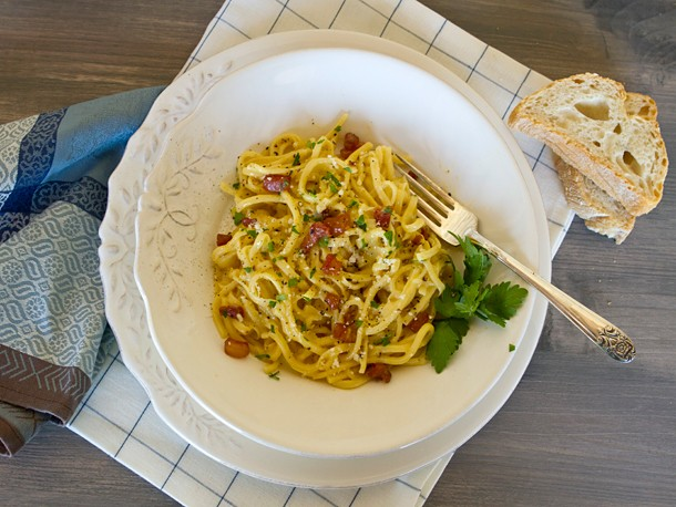 Pasta alla Carbonara Recipe