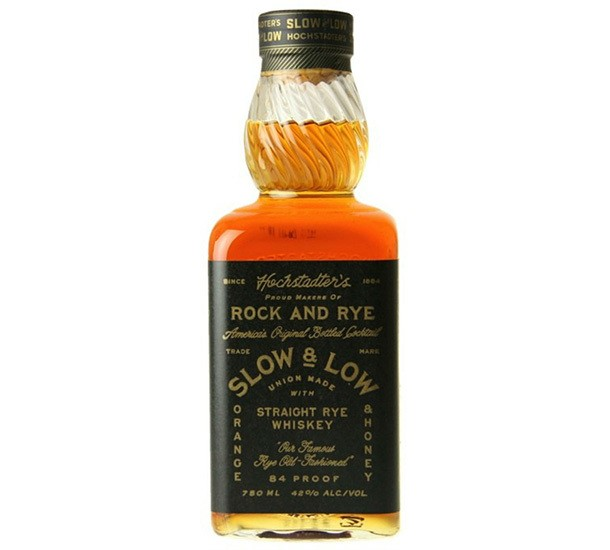 Hochstadter's Slow & Low Rock and Rye: A Vintage Cocktail Party in a Bottle