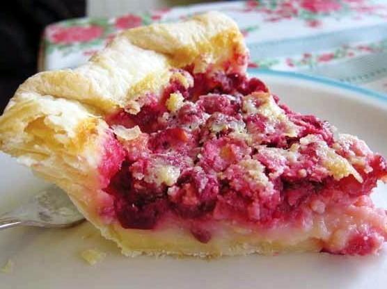 Hoosier Mama's Cranberry Chess Pie