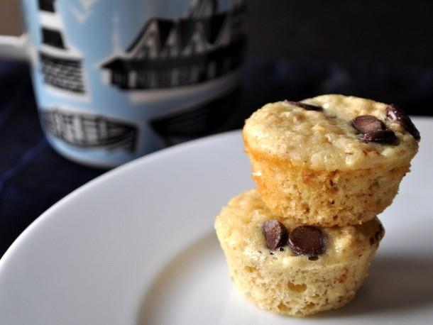 Chocolate Chip Oatmeal Mini Muffins Recipe