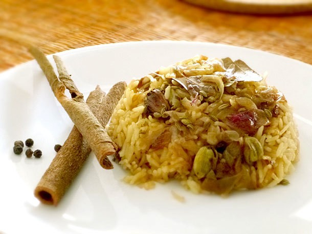 Beyond Curry: Easy Spiced Basmati Pilaf