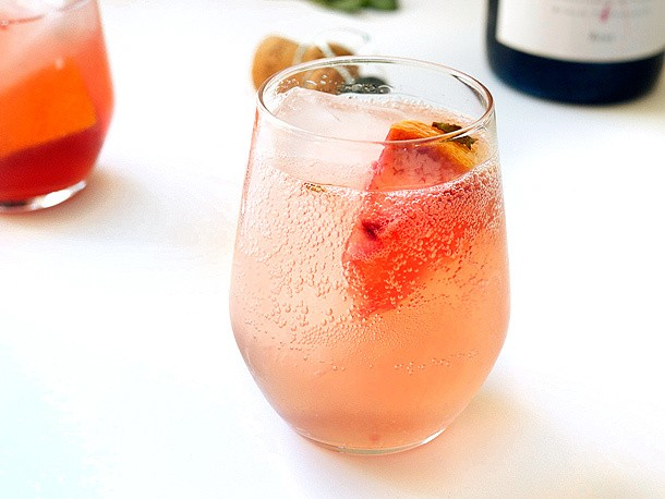 Pitcher Drinks: Sparkling Grapefruit Sangria With Lillet Rosé