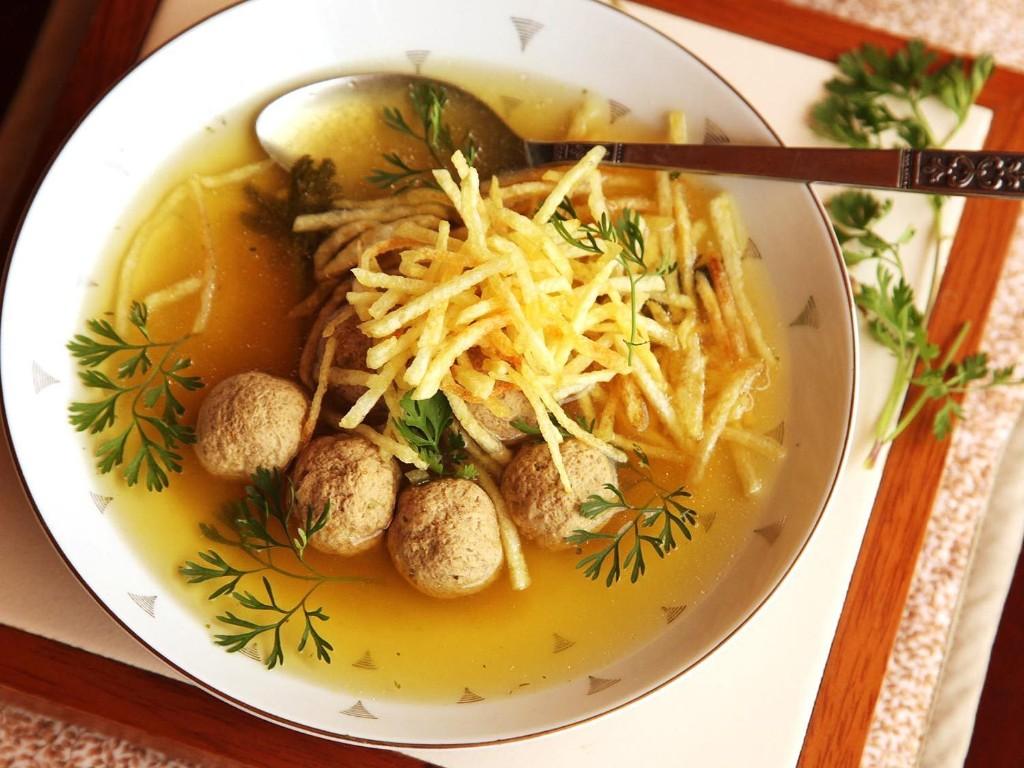 Sopa de Albóndigas (Colombian-Style Meatball Soup) Recipe