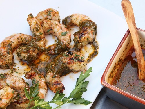 Grilled Shrimp With Chermoula Recipe