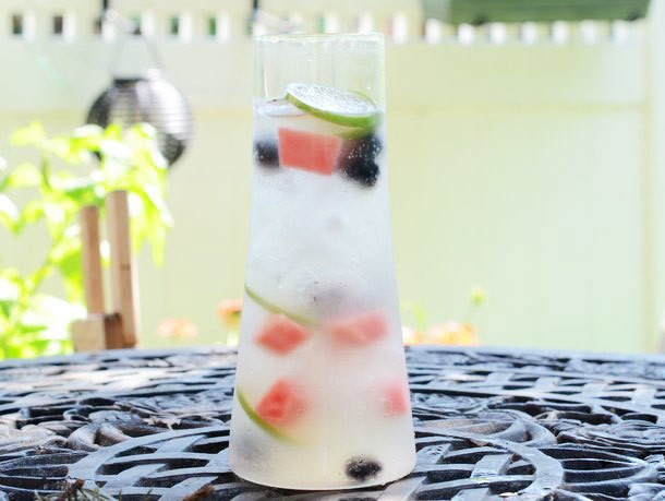 Watermelon and Blackberry Sangria Recipe
