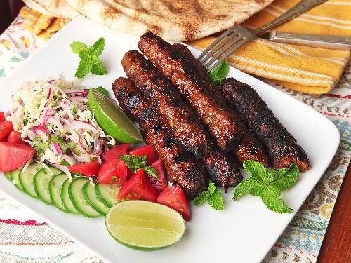 Seekh Kebabs (Pakistani Spicy Grilled Ground Meat Skewers) Recipe